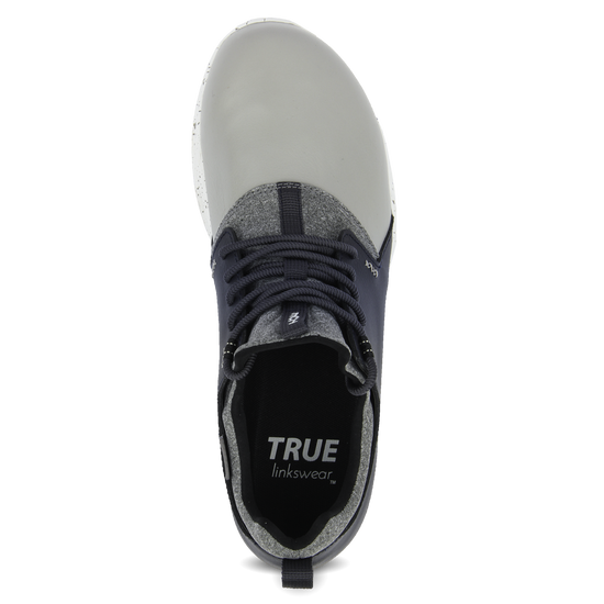 Grey Navy TRUE Original full shoe top insert view