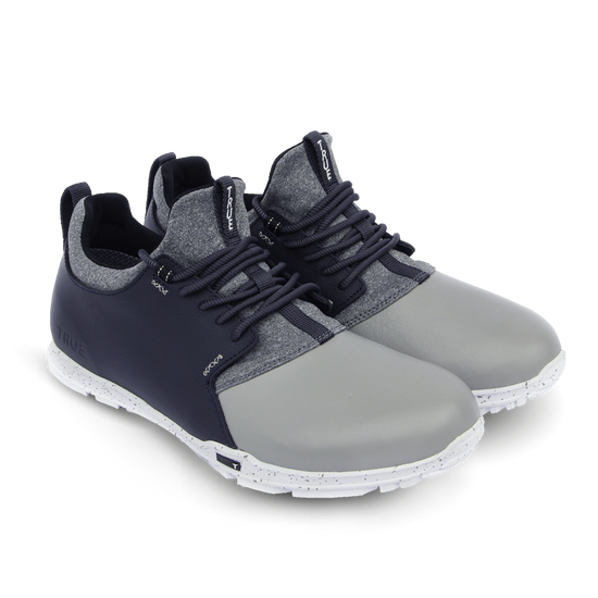 Grey Navy TRUE Original full shoe dual pair high side