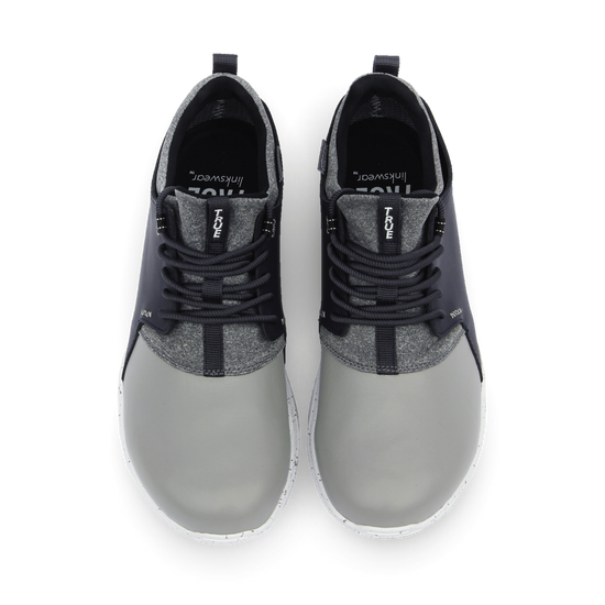 Grey Navy TRUE Original full shoe dual pair top down