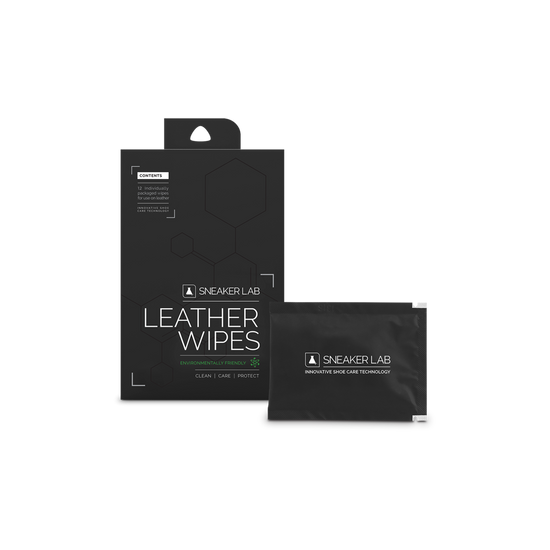 Sneaker Lab leather wipes 12 pack full front