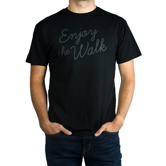 Enjoy The Walk - Black