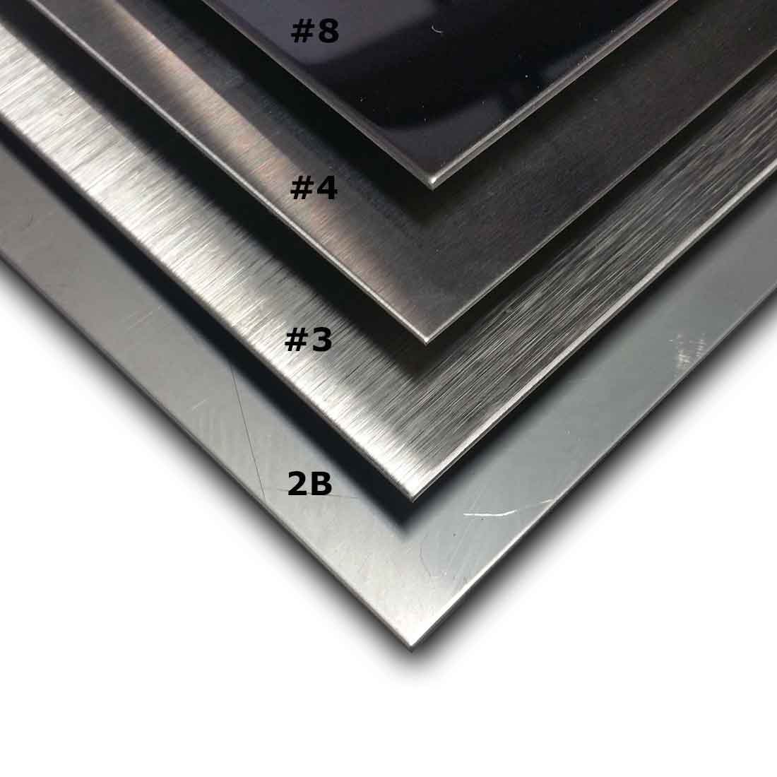 Guide To Stainless Steel Sheet Finishes Mill Polished
