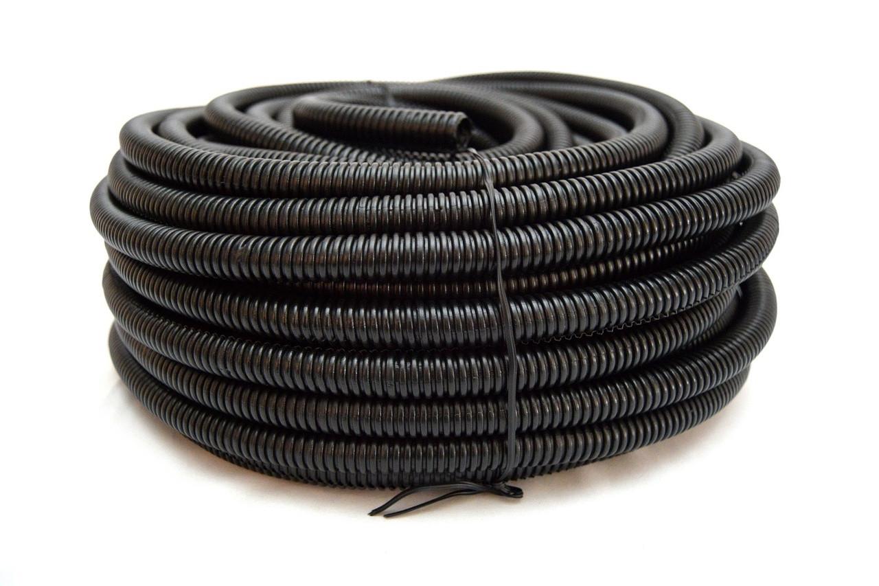 Wire Loom Black 20 Feet 1//2 Split Tubing Hose Cover Auto Home Marine