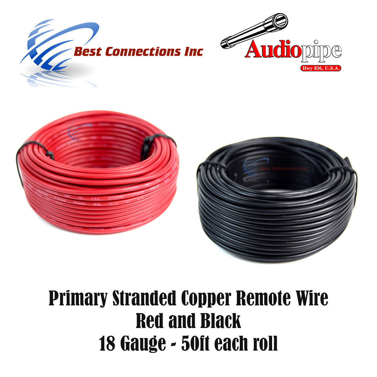 16 GAUGE WIRE 100 FT RED PRIMARY AWG STRANDED COPPER POWER GROUND REMOTE AWG