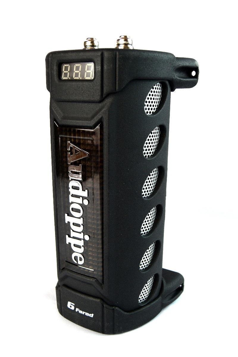Audiopipe ACAP6000 6 Farad Power Capacitor