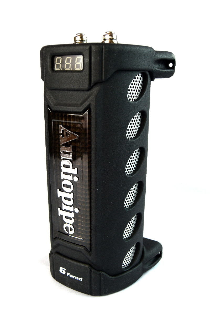 Details about Audiopipe ACAP-6000 6 Farad Digital Power Capacitor Car Audio  Amplifier Cap