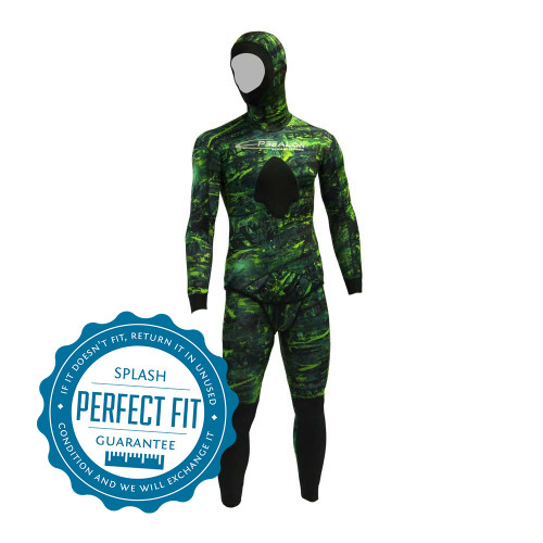 Epsealon Green Fusion Spearfishing Wetsuit
