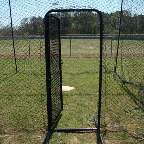 Batting Cage Door Open Outside ... & Batting Cage Door Kit - Easy to Install