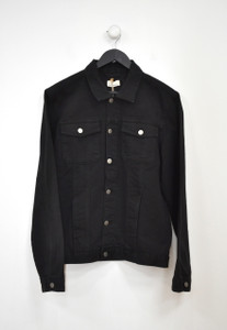 Black Wash Denim Jacket