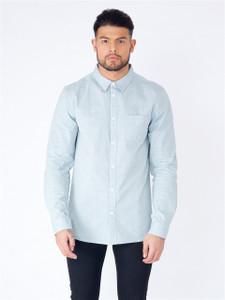 Blue Long Sleeve Pocket Shirt
