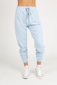 Blue Sports Luxe Stripe Trousers