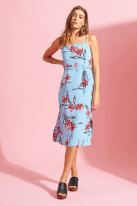 Santa Fey Floral Cami Midi Dress