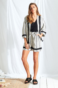 Sienna Stripe Kimono Jacket