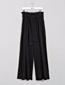 Black Aurelius Cord Wide Legs Pants