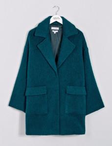 Teal Nisha Coat
