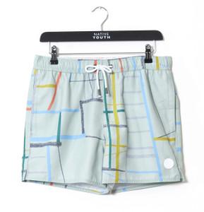 Grey Spectrum Swim Short
