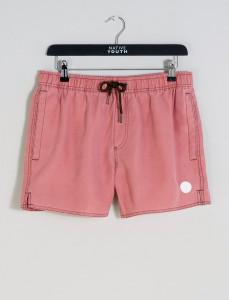 Pink Sandside Salt Faded Swim Short