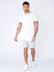 Grey Jersey Pull on Shorts