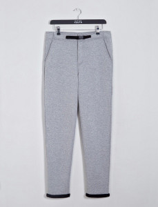 Grey Stratton Double Faced Slim Fit Joggers