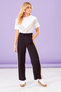 Pastel Sports Stripe Trousers