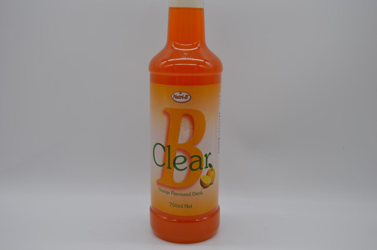 B Clear Orange