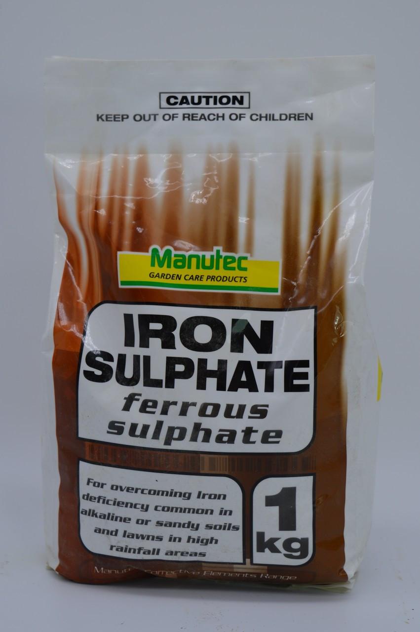 Iron Chelate (Ferrous Sulphate) 1kg Bag Manutec