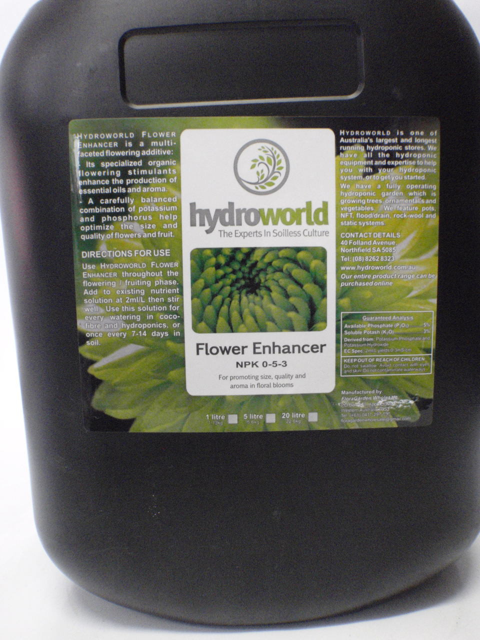 Hydroworld Flower Enhancer 20L
