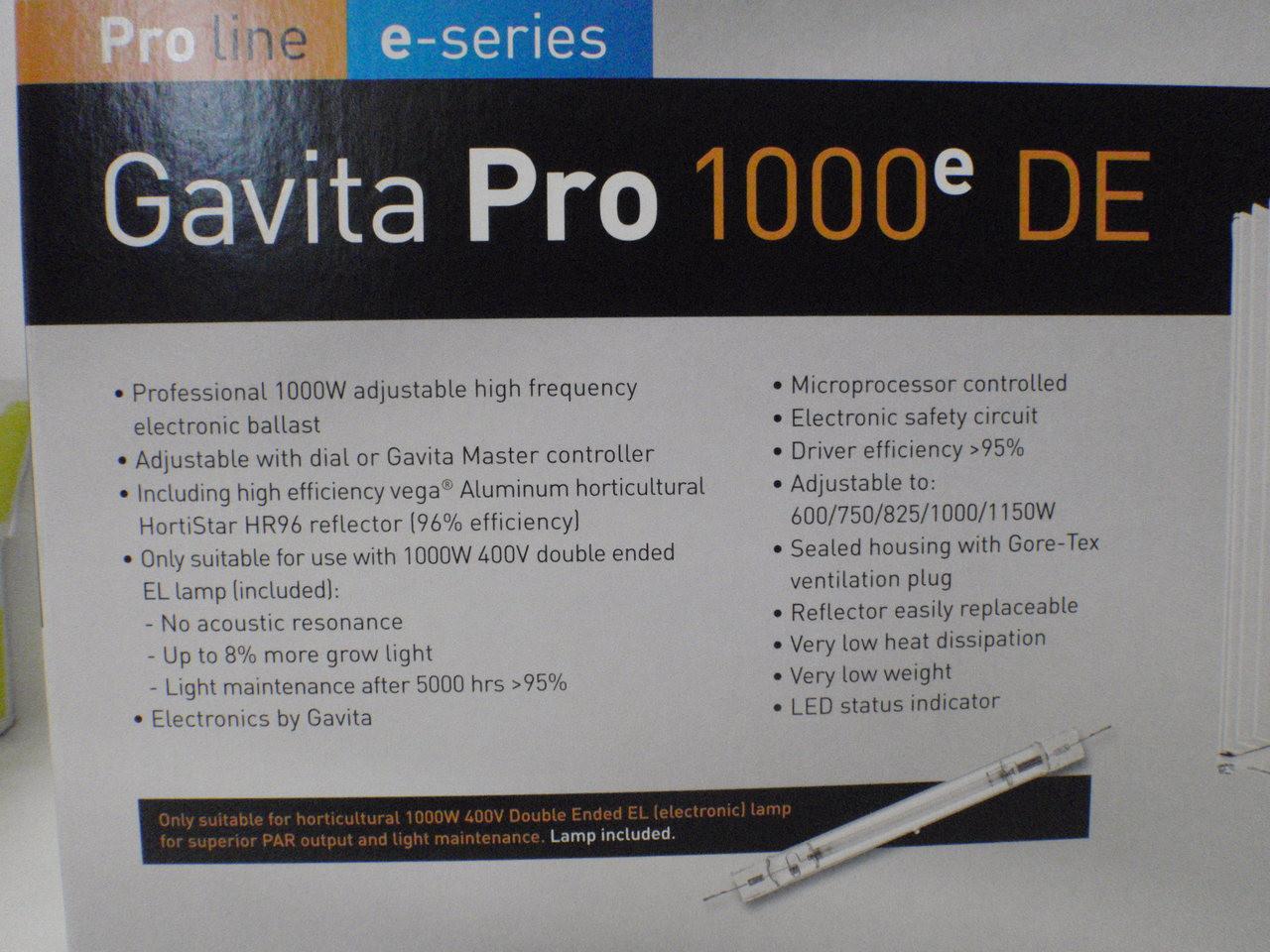 Gavita 1150 E-series kit