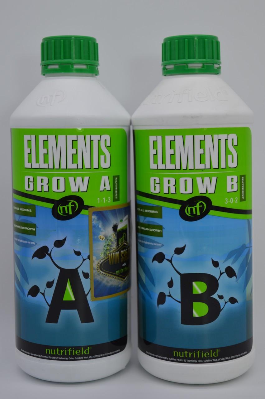 Nutrifield Elements 1L A+B Grow