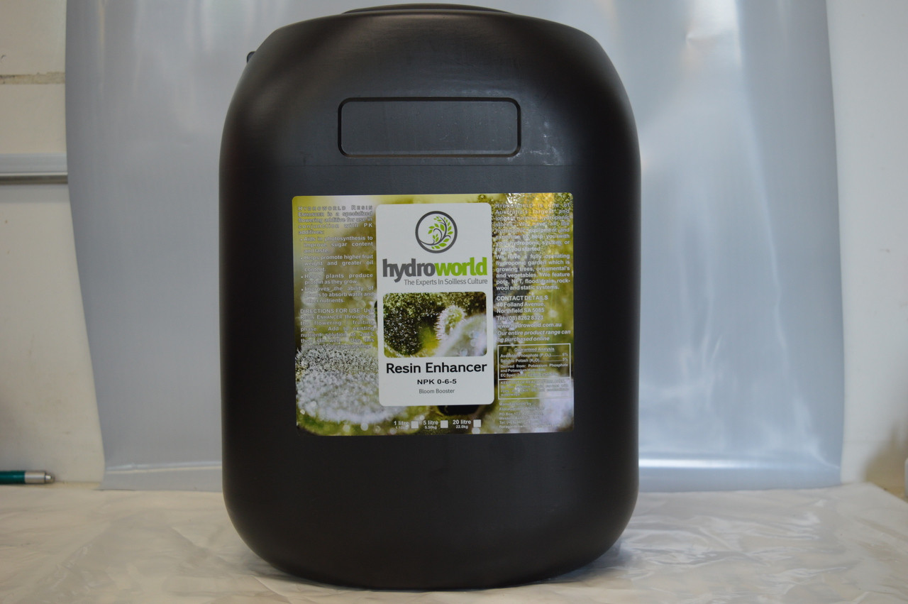 Hydroworld Resin Enhancer 20L