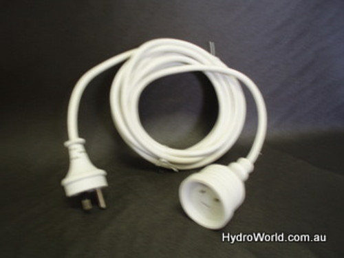 Extension Lead Round Earth Pin