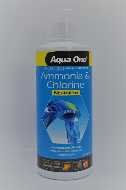Aqua One Ammonia & Chlorine 500ml