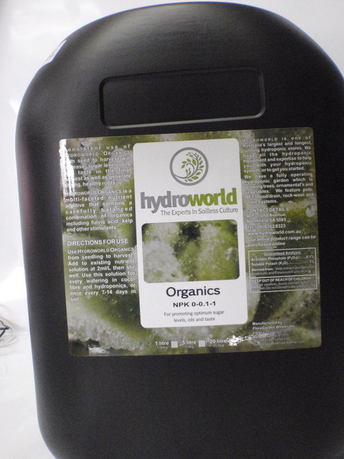 Hydroworld Organics 20L