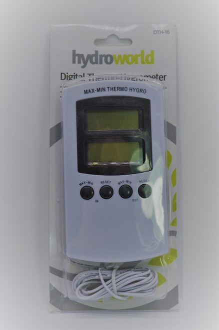 Hydroworld Temp/Humidity With Outdoor temp