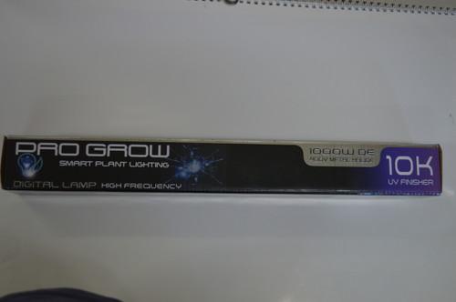 Pro Grow 10K Metal halide 1150w DE Lamp