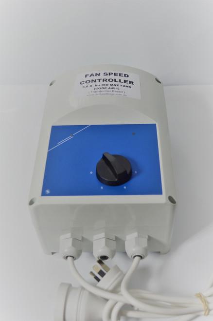 5 Stage fan speed controller