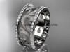 14kt white gold diamond engagement ring, wedding band ADLR121BD