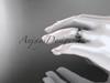 platinum celtic trinity knot engagement ring, wedding band CT7105B
