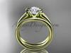 Beautiful Engagement Rings 14kt Yellow Gold Wedding Ring Set VD10016S