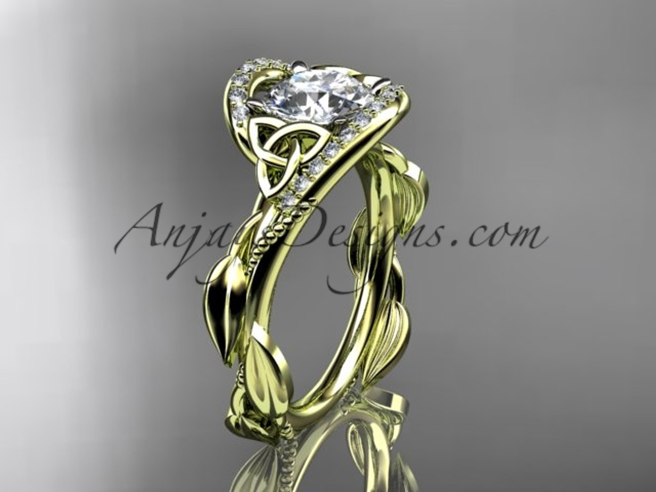 wedding engagement rings contemporary aerial modern