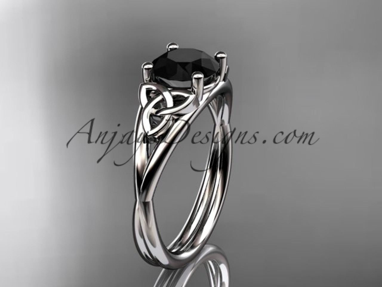 rings ladies bridal trinity htm knot wedding celtic ring