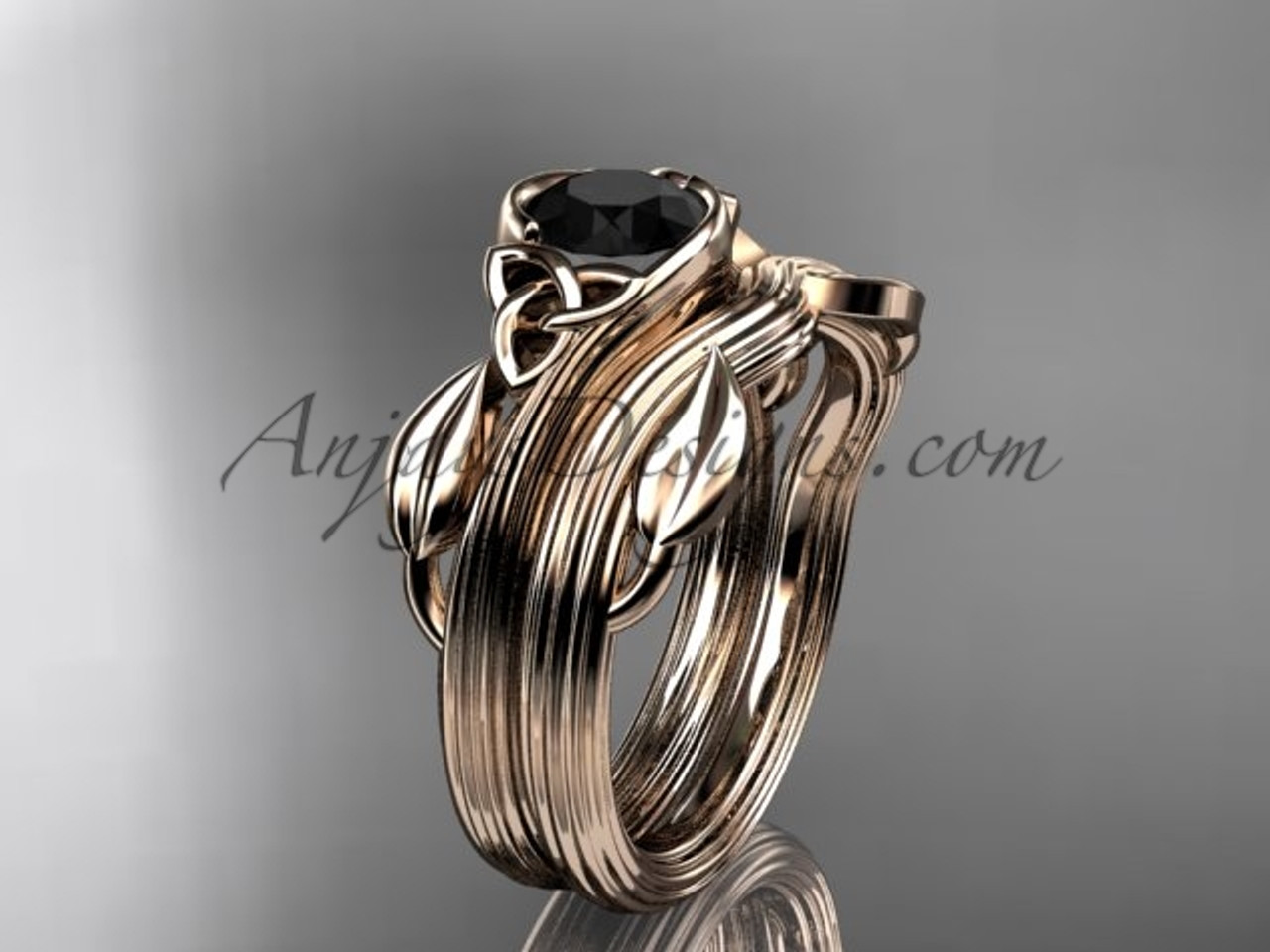 of leaf rings buy delicate picture store jewellery ring gold online