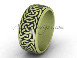 Cool Wedding Ring Bands Yellow Gold Men S Ring Sgt649g
