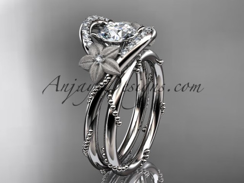 platinum diamond unique engagement set ADLR166S