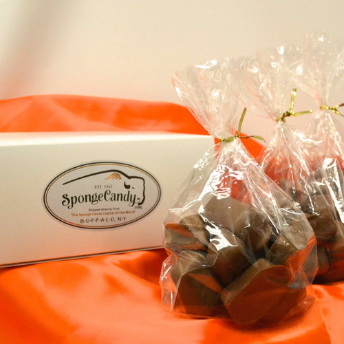 2 lb box of Sponge Candy choose from 1/2 lb and 1 lb bags