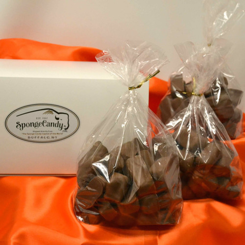 3  lb box of Sponge Candy choose from 1/2 lb and 1 lb bags