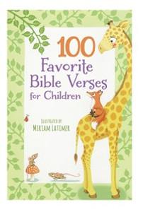 100 Favorite Bible Verses for Children - ISBN: 9780718099459