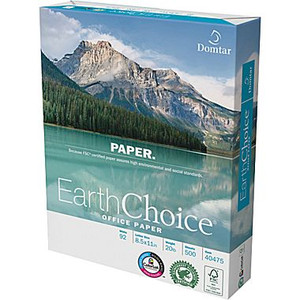 "Domtar Earthchoice® Office Paper, 8 1/2"" x 11"", Ream"
