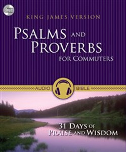 KJV, Psalms and Proverbs for Commuters, Audio CD - ISBN: 9780310441243