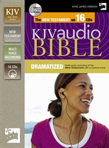 KJV, New Testament Dramatized Audio, Audio CD - ISBN: 9780310936107